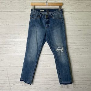 Kut from the Kloth distressed Reese straight jean